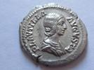 Denar 202-205 n.  Rom Denar von Plautilla ...