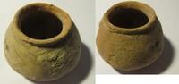 Urne aus Ton 3. Jhdts. v Indusgebiet Indus...