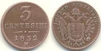 1 Centesimi 1852 M Österreich - Lombardei ...