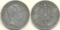 5 Mark 1876 H Deutschland - Kaiserreich He...