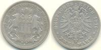 2 Mark 1876 J Deutschland - Kaiserreich Ha...