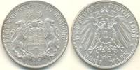 3 Mark 1908 J Deutschland - Kaiserreich Ha...