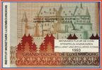 1 bis 50 Frang 1993 Luxemburg Kursmünzensa...