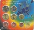 3,88 Euro 1999 Spanien Kursmünzensatz ST