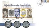 2 x 10 EUR und 1 x 10 DM 1998,2002,2 Deuts...