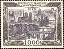 """1.000 F 1950 FRANCE 1.000 F """"Vue de P..."""