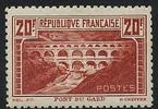 20 F 1929 FRANCE 20 F chaudron clair (I), 'Pont du Gard', DENTELE 11, r... 1100,00 EUR  +  12,00 EUR shipping