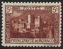 5 F 1922 MONACO 5 F brun FONCE,  Palais Pr...