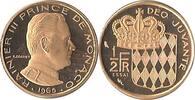 1/2 Franc 1965 MONACO RAINIER III PP