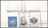 3 x 10 F  MONACO Bloc n° 62 ONU SLANIA fan...