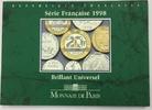 29,73 F 1998 FRANCE Coffret BU 1998 Unz