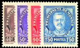 1933 MONACO Prince Louis II ss MNH
