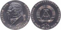 20 Mark Silber 1967 DDR Wilhelm von Humbol...