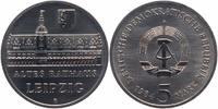 5 Mark 1984 DDR Altes Rathaus Leipzig Stempelglanz  10,00 EUR  +  6,00 EUR shipping