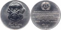 20 Mark 1983 DDR Karl Marx Stempelglanz-  6,00 EUR  +  6,00 EUR shipping