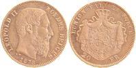 20 Francs GOLD 1878 Belgien Leopold II. 1865-1909 vorzüglich-prägefrisc... 244,00 EUR  +  10,00 EUR shipping