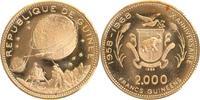 2000 Francs Gold 1969 Guinea Mondlandung fast stempelglanz  299,00 EUR  +  10,00 EUR shipping