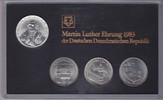 20 Mark + 3 x 5 Mark 1983 (82) DDR Themensatz Martin Luther-Ehrung Stem... 599,00 EUR  +  16,00 EUR shipping