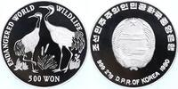 500 Won Silber 1990 Nord Korea WWF Kraniche PP Proof in Kapsel  49,00 EUR  +  10,00 EUR shipping