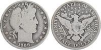 1/2 Dollar Silber 1908 O USA Barber fast schön  20,00 EUR  +  6,00 EUR shipping