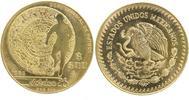 500 Pesos GOLD 1985 Mexiko Fußball-WM 1986 prägefrisch-stempelglanz  799,00 EUR  +  16,00 EUR shipping