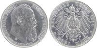 3 Mark 1911 D Bayern Luitpold 1886 - 1912 berieben, vorzüglich  20,00 EUR  +  6,00 EUR shipping