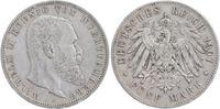 5 Mark 1907 F Württemberg Wilhelm 1891-1918 sehr schön  33,00 EUR  +  6,00 EUR shipping