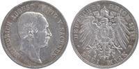 3 Mark 1910 E Sachsen Friedrich August III. 1904-1918 kl. RF, sehr schön  17,00 EUR  +  6,00 EUR shipping