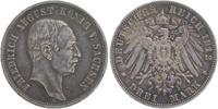 3 Mark 1912 E Sachsen Friedrich August III. 1904-1918 kl. RF, sehr schö... 19,00 EUR  +  6,00 EUR shipping