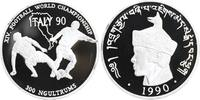 300 Ngultrum Silber 1990 Bhutan Fußball-WM in Italien PP Proof in Kapsel  22,00 EUR  +  6,00 EUR shipping