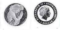 1 $ Silberunze 2007 Australien Koala auf Ast Stempelglanz BU in Kapsel  69,00 EUR  +  10,00 EUR shipping