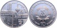 10 Mark Silber 1974 DDR 25 Jahre DDR Stemp...