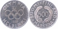 500 Markkaa Silber 1952 Finnland Olympiade Helsinki vorzüglich-stempelg... 21,00 EUR  +  6,00 EUR shipping