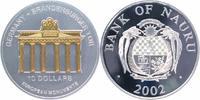 10 Dollars 2002 Nauru Inseln Skulpturmünze Feinsilber, teilvergoldet, B... 149,00 EUR  +  10,00 EUR shipping