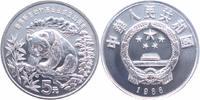 5 Yuan Silber 1986 China 25 Jahre WWF, Pandabär PP in Kapsel  59,00 EUR  +  10,00 EUR shipping