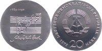 20 Mark 1975 DDR Johann Sebastian Bach fas...