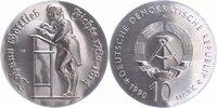 10 Mark Silber 1990 DDR Johann Gottlieb Fi...