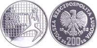 200 Zlotych 1982 Polen Fußball-WM 1982 in Spanien PP-Proof in Kapsel  12,00 EUR  +  6,00 EUR shipping