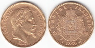 20 Francs GOLD 1866 A Frankreich Napoleon III. 1852-1870 sehr schön  244,00 EUR  +  10,00 EUR shipping