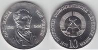 10 Mark 1976 DDR Carl Maria von Weber vorz...