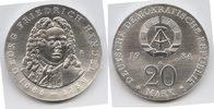 20 Mark Silber 1984 DDR Georg Friedrich Hä...