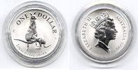 1 $ Silberunze 1996 Australien Känguruh Stempelglanz in Originalkapsel  35,00 EUR  +  6,00 EUR shipping