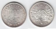 1000 Yen Silber 1964 Japan Olympiade Tokio stempelglanz  17,00 EUR  +  6,00 EUR shipping