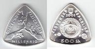 500 Kronen 2001 Slowakei 'Millennium, 1 Unze Silber' Stempelglanz in Or... 89,00 EUR  +  10,00 EUR shipping