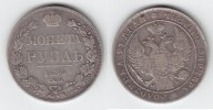 Rubel 1834 Rußland Nikolaus I. 1825-1855 sehr schön-  129,00 EUR  +  10,00 EUR shipping