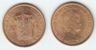 10 Gulden GOLD 1913 Niederlande Wilhelmina I. 1890-1948 prägefrisch  249,00 EUR  +  10,00 EUR shipping