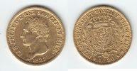 20 Lire GOLD 1827 Turin Italien, Königreich Sardinien 'Carlo Felice 182... 419,00 EUR  +  10,00 EUR shipping