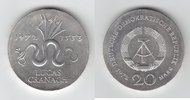 20 Mark Silber 1972 DDR Lucas Cranach fast...