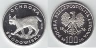 100 Zlotych Silber 1979 Polen Luchs, Probe PP  69,00 EUR  zzgl. 6,00 EUR Versand