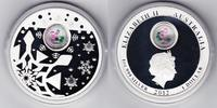 1 $ Silberunze 2012 Australien Weihnachtsmünze mit Edelsteinen PP- in O... 69,00 EUR  +  10,00 EUR shipping